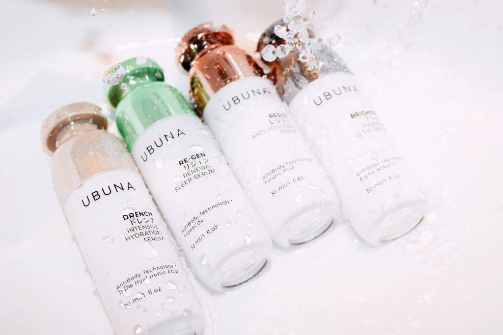 ubuna beauty serums water shot