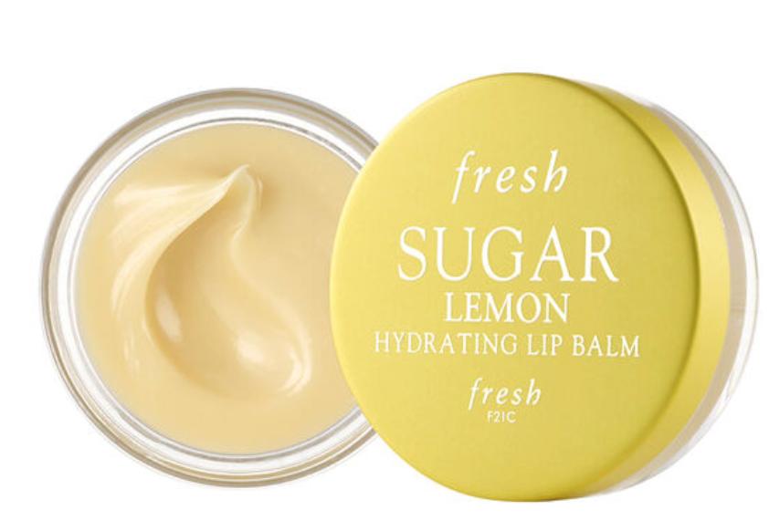 fresh beauty sugar lemon lip balm