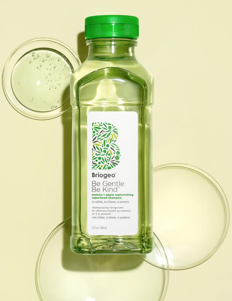 Briogeo Be Gentle Be Kind Matcha + Apple Replenishing Superfood Shampo