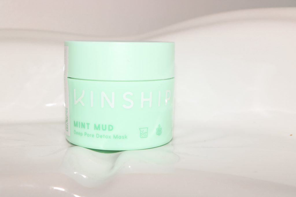 love kinship mint mud deep pore detox mask