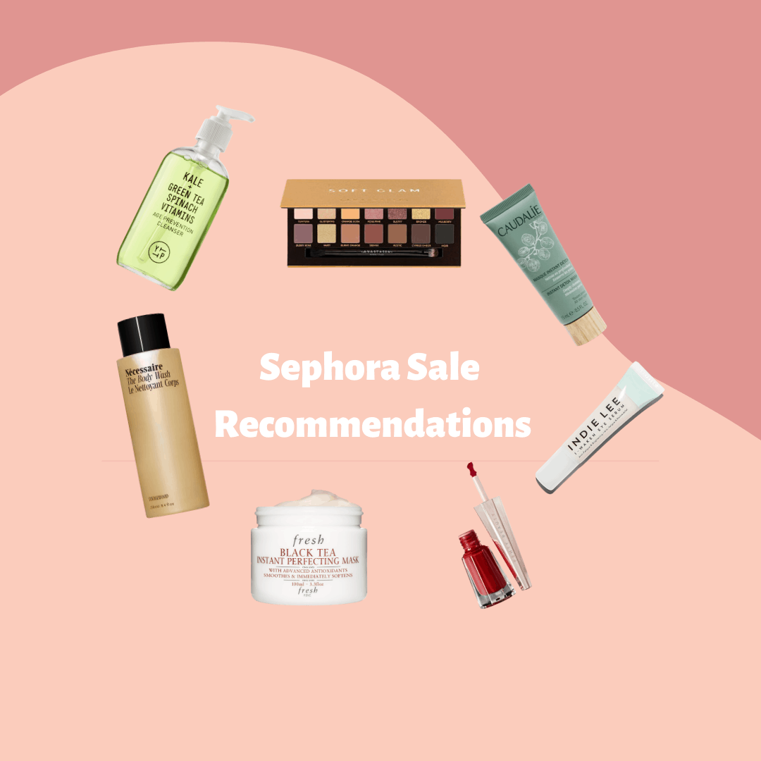 sephora sale recommendations