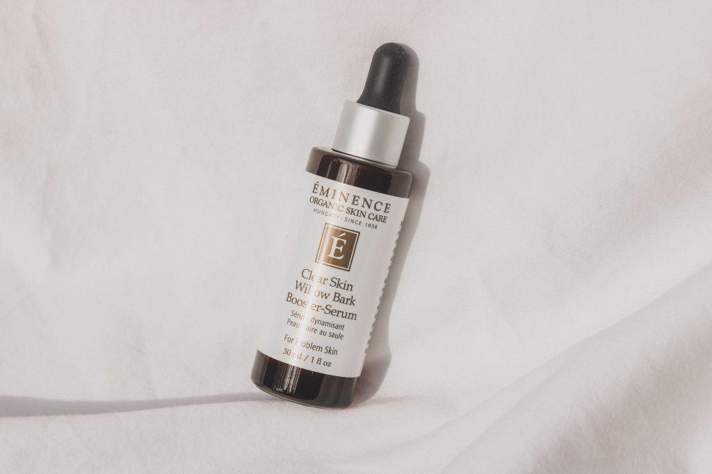 eminence clear skin willow bark boosting serum